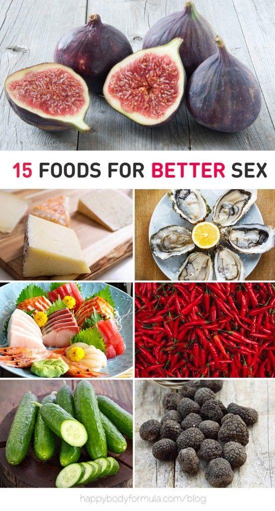 Natural sex foods