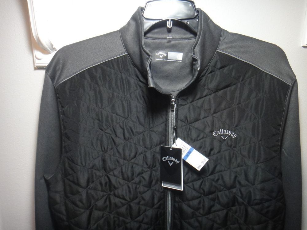 83f74f98 Callaway Golf Opti Shield Zipper Jacket Color Iron Gate ...