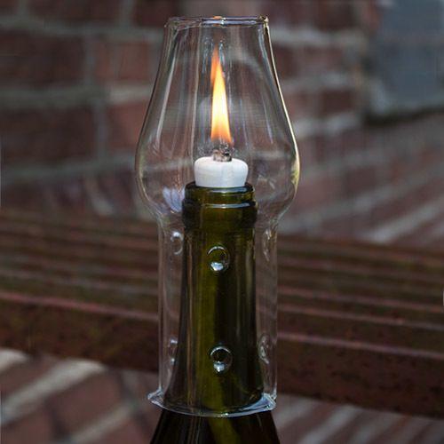 Wine Bottle Oil Lamp Kit Oil Lamps Bottle Lamp Kit Glass
