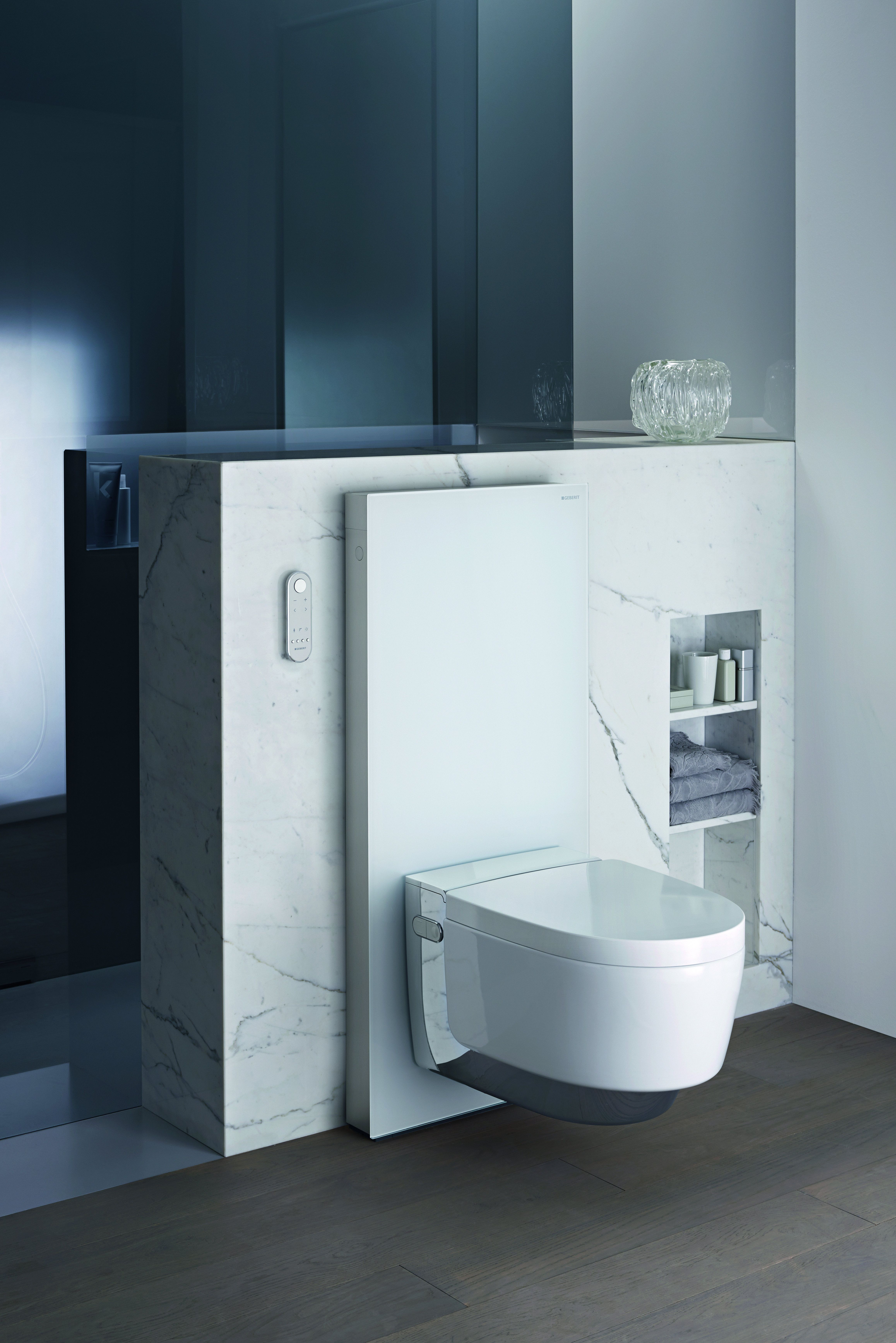 The Geberit AquaClean Mera features the very latest in toilet ...