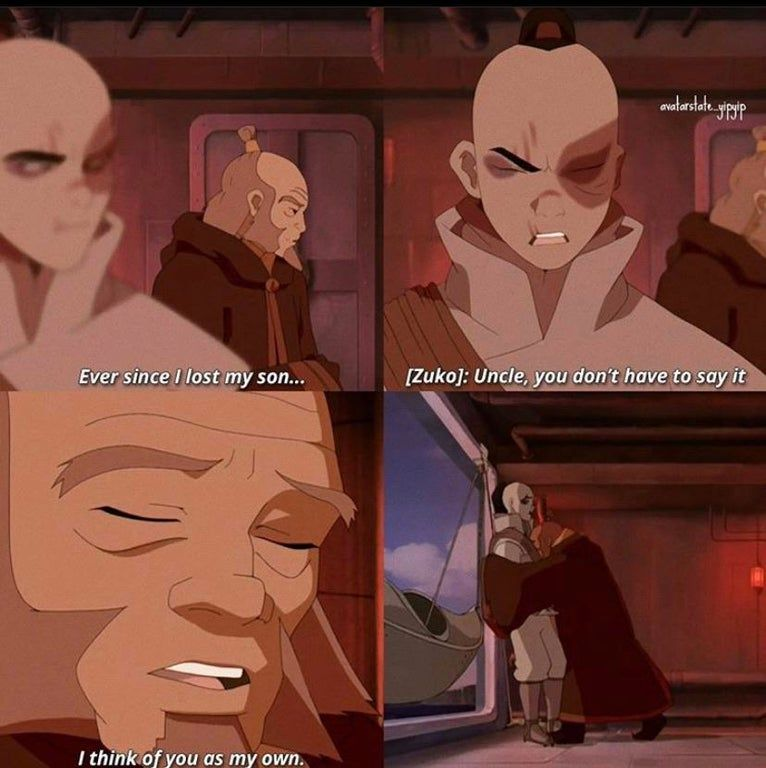 This Scene Right Here Iroh Been Through So Much Thelastairbender In 2020 The Last Avatar Avatar The Last Airbender Avatar Airbender