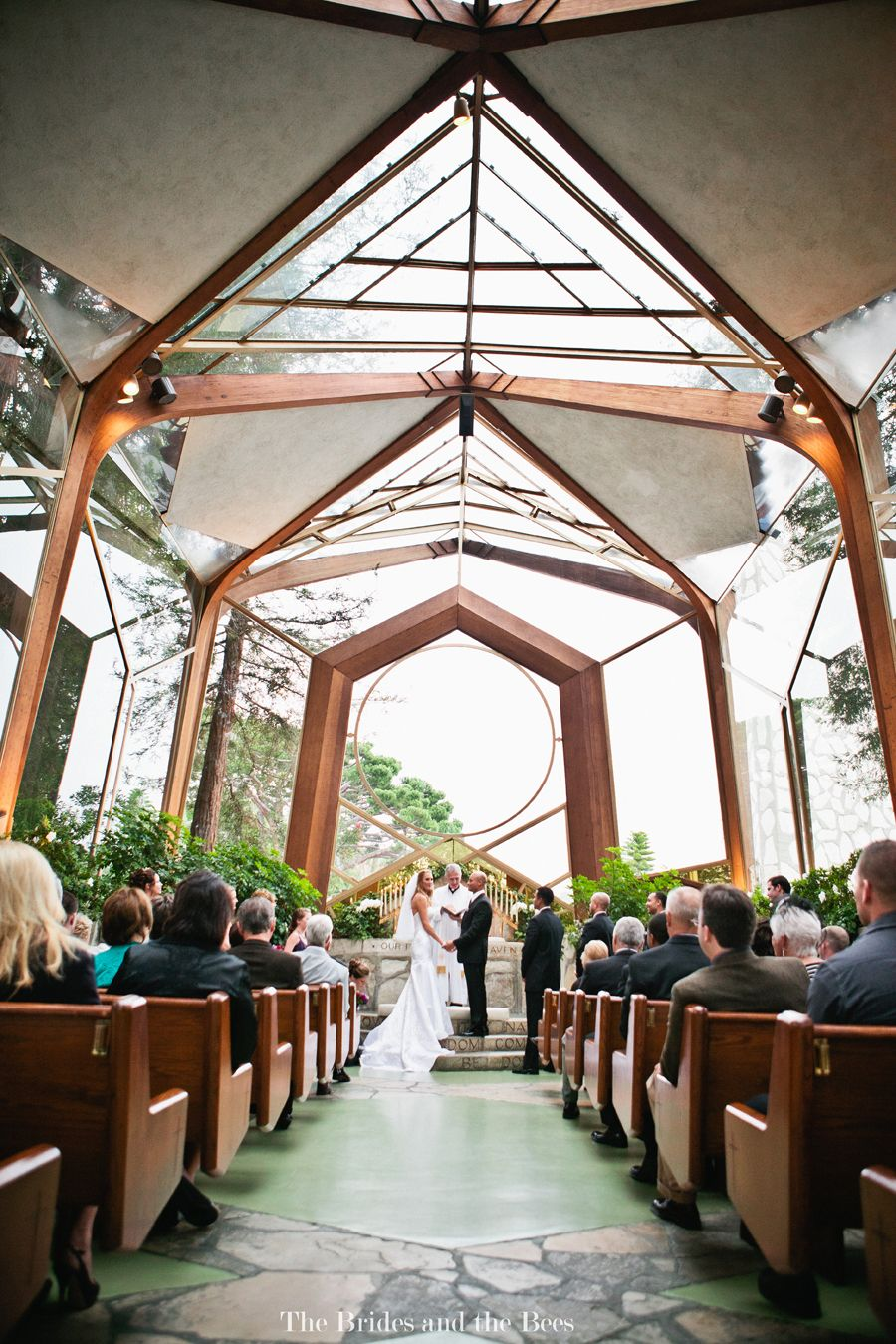 A Gorgeous Venue The Wayfarer S Chapel In Rancho Palos Verdes Calif Was Designed