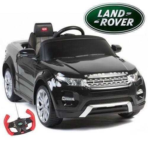 Rastar Range Rover Evoque 12v Black Range Rover Evoque Kids Ride On Toy Cars For Kids