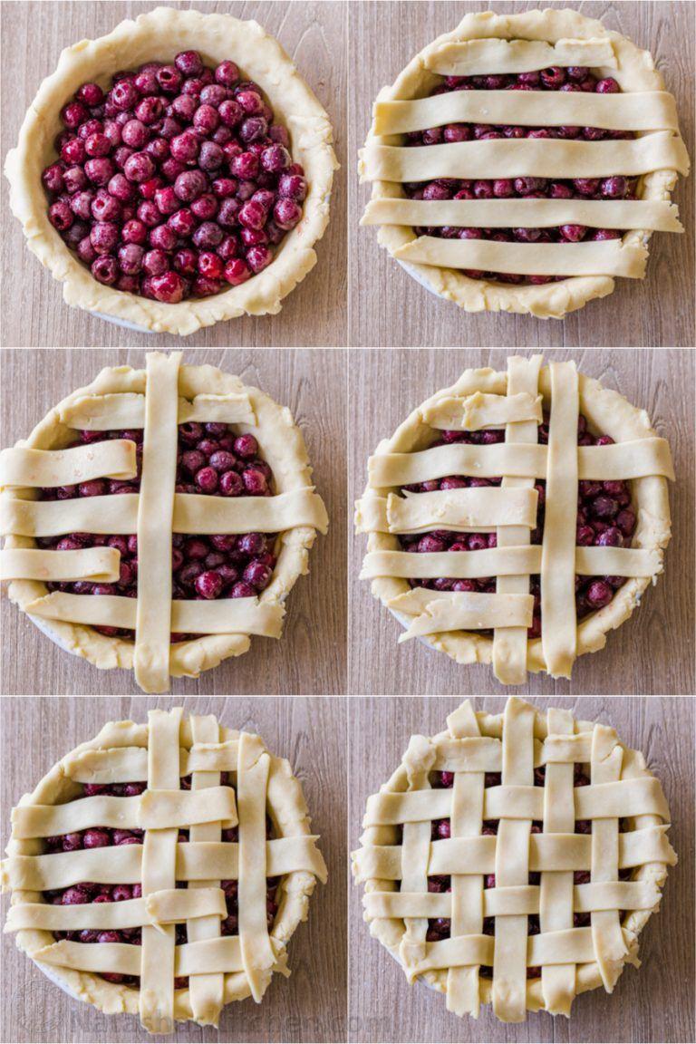 Classic Cherry Pie Recipe (VIDEO) - NatashasKitche