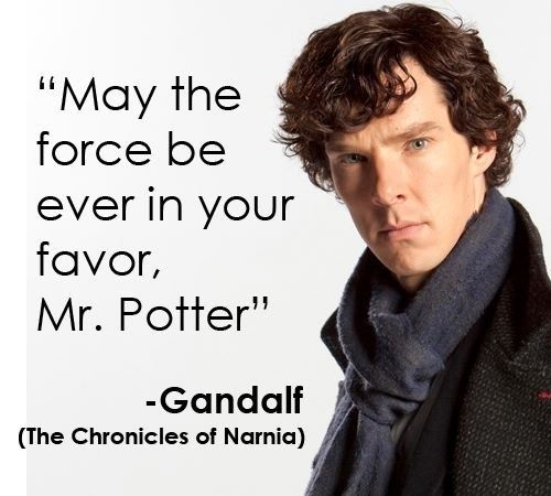 How to piss off a group that consists of a   Harry Potter fan, a Star Wars fan, a Lord of the Rings fan and a Chronicles of Narnia fan in 1 simple quote!