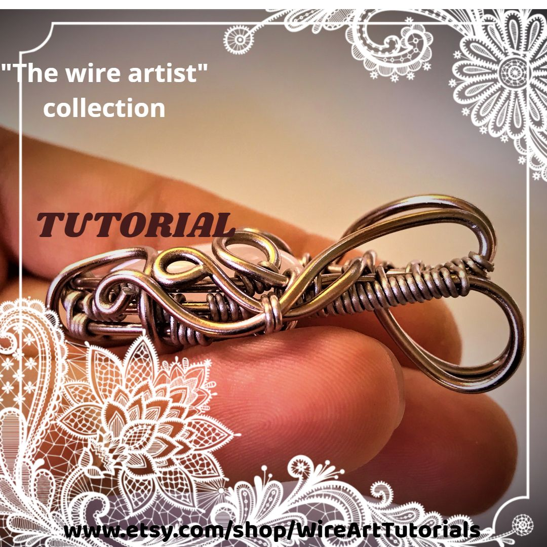 Wire wrapping tutorial step by step guide book ebook wire jewelry wire wrapping tutorial step by step guide book ebook wire jewelry instructionsart decorations from beginner to advanced level best seller jewelry making baditri Images