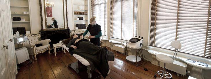Onze behandelruimte voor lichaamsbehandelingen