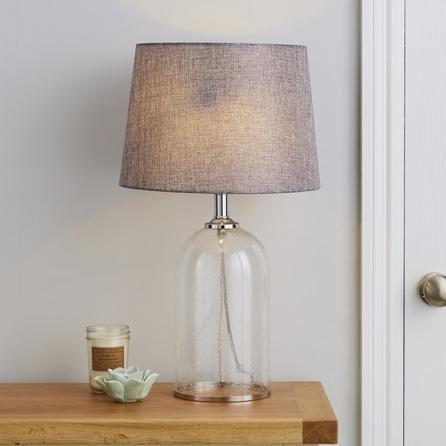 Lenny Glass Table Lamp Glass Table Lamp Table Lamp Clear Glass Table Lamp