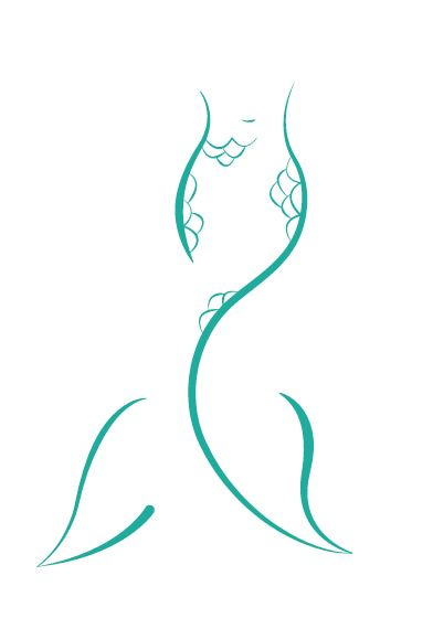 Simple Mermaid Tail Drawing : simple, mermaid, drawing, Mermaid, Behance, Tattoo,, Tattoos,, Tattoo