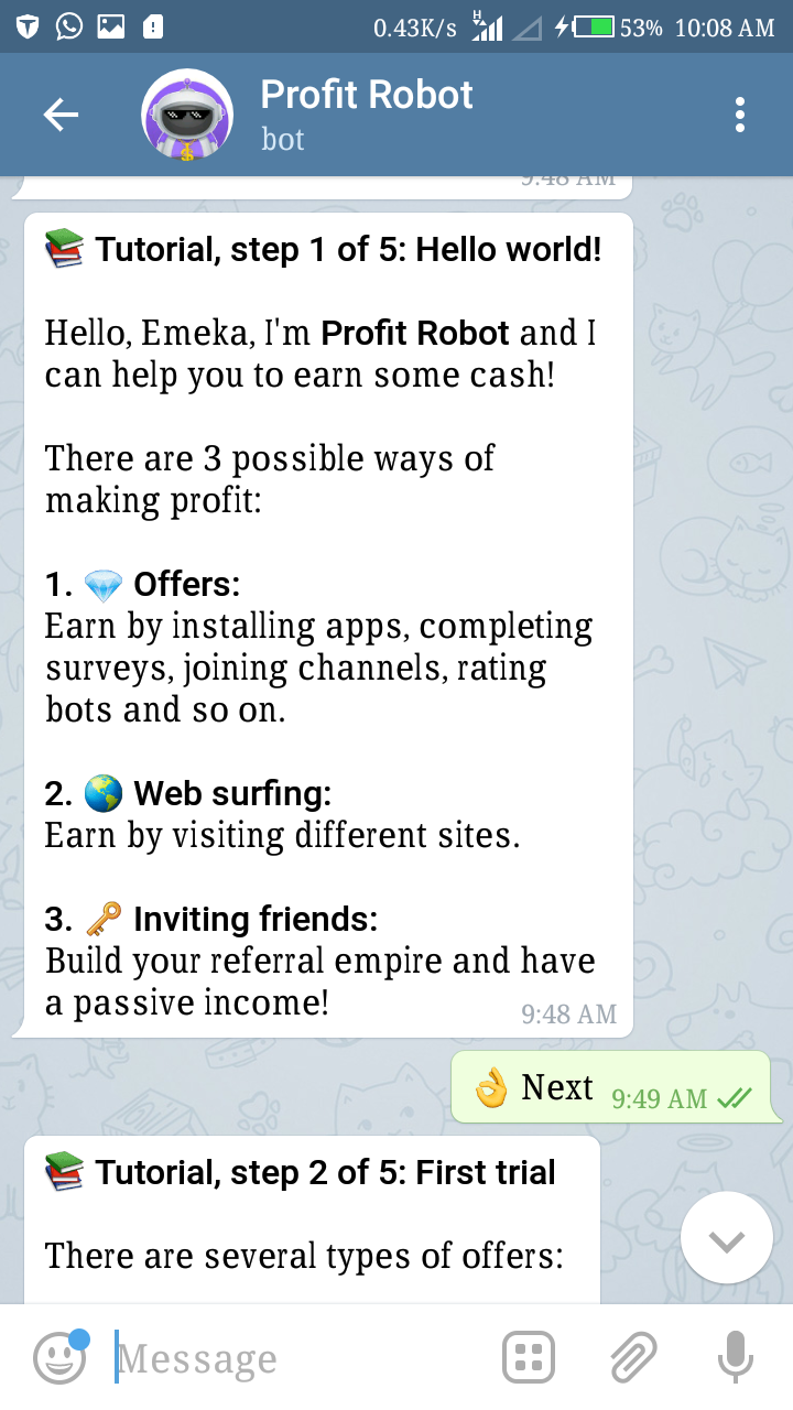 Another Telegram Bot To Earn Your free Bitcoin | Technology