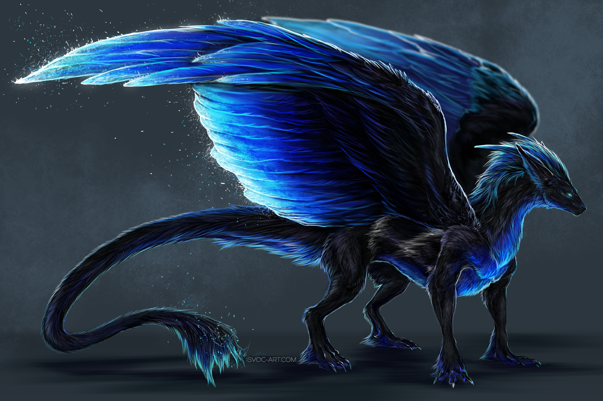 Angel Dragon: Mythical Creatures Art, Mystical