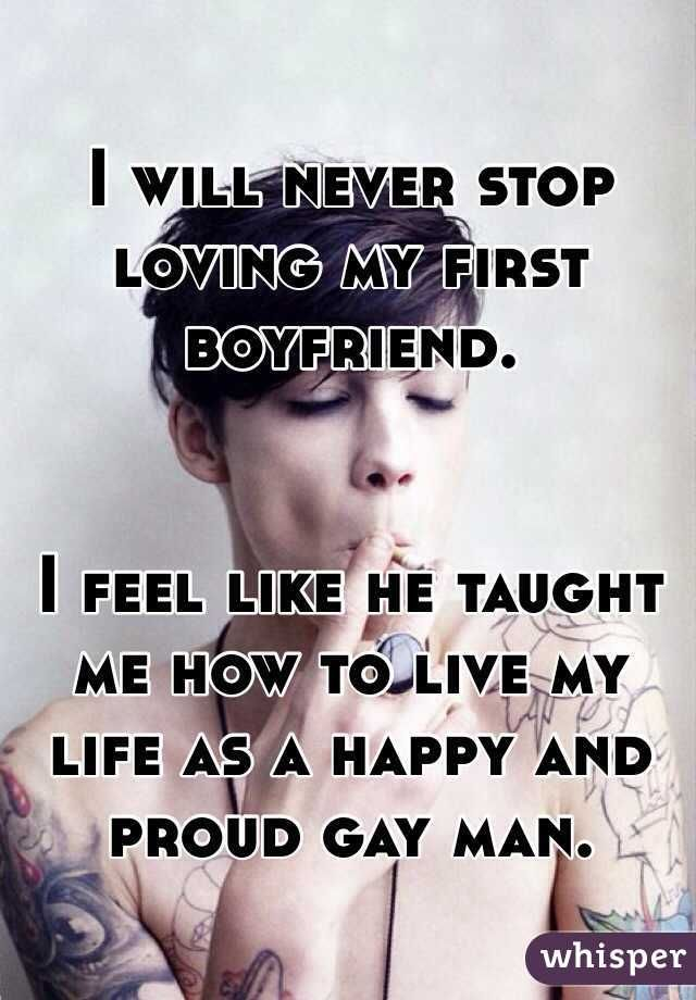 Guys Confess About Their First Boyfriends