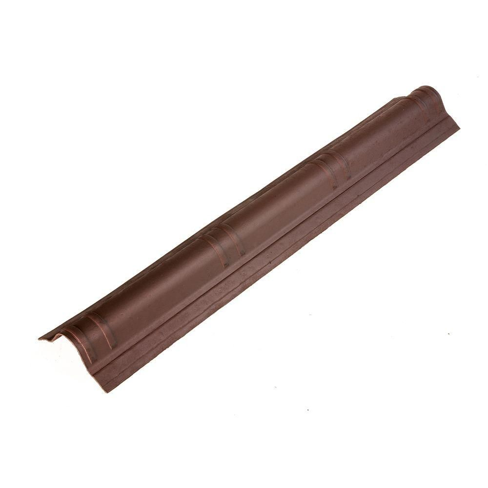 Best Onduvilla 41 5 In X 7 In Siena Brown Slim Cap Roof 400 x 300
