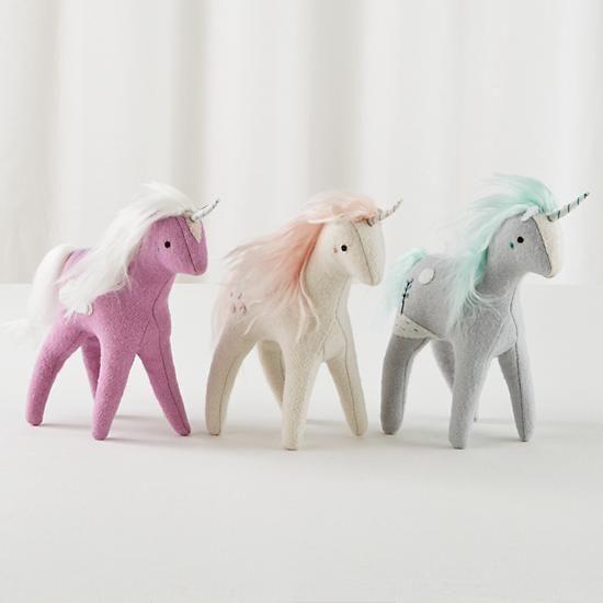 mythical edition plush unicorns...