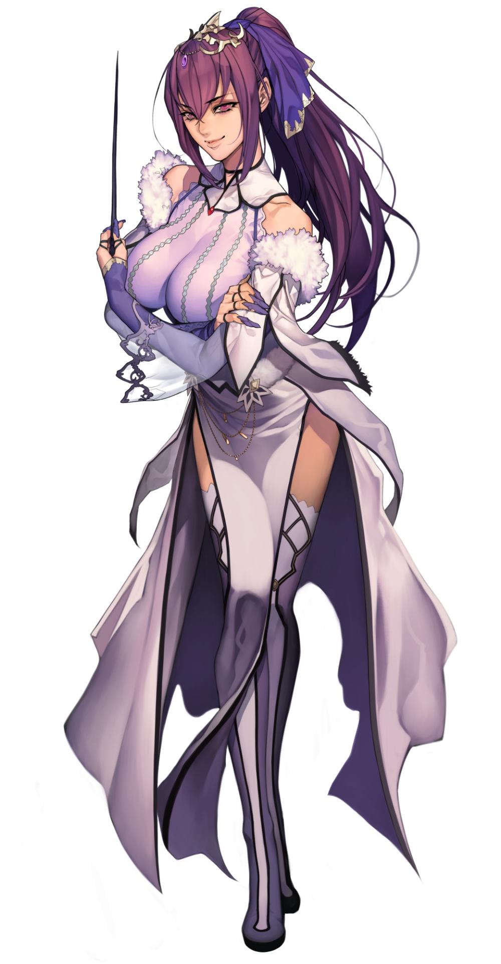 Photo of Fate/Grand Order, breasts, Scáthach-Skaði / スカサハ師匠っ!! – pixi…