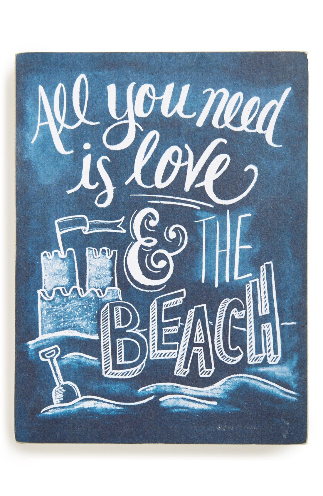 Primitives By Kathy All You Need Is Love The Beach Wall Art