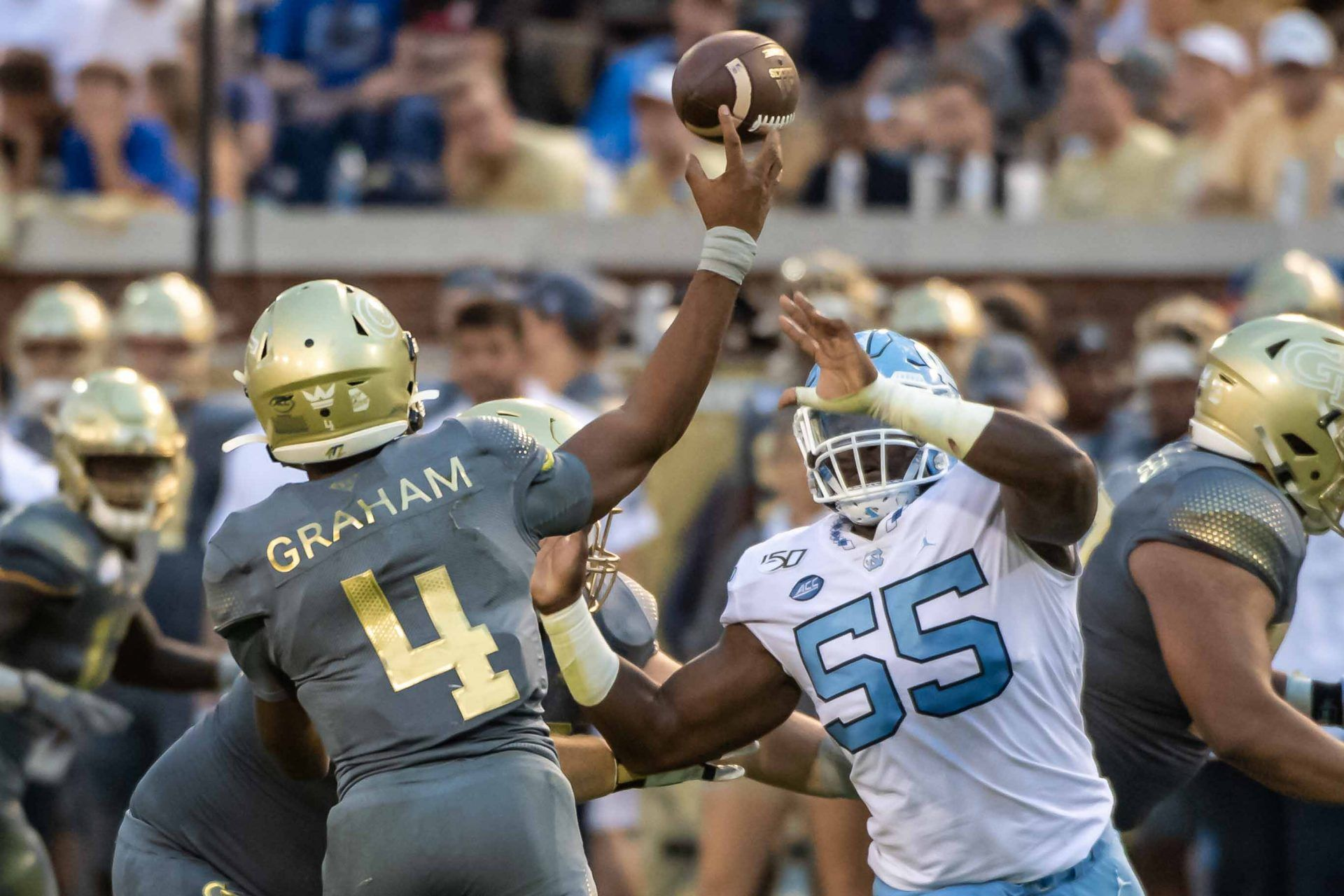 Yellow Jackets Survive Late Game Push from Wolfpack