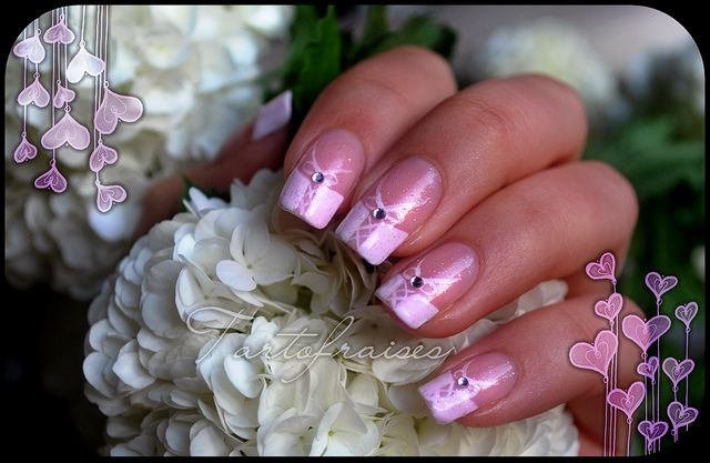 Tartofraises Nail Art By Tartofraises Via Flickr Nails Pinterest