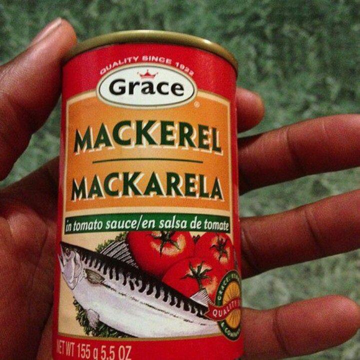 "canned mackerel  use it to make mackerel run down  ""all"
