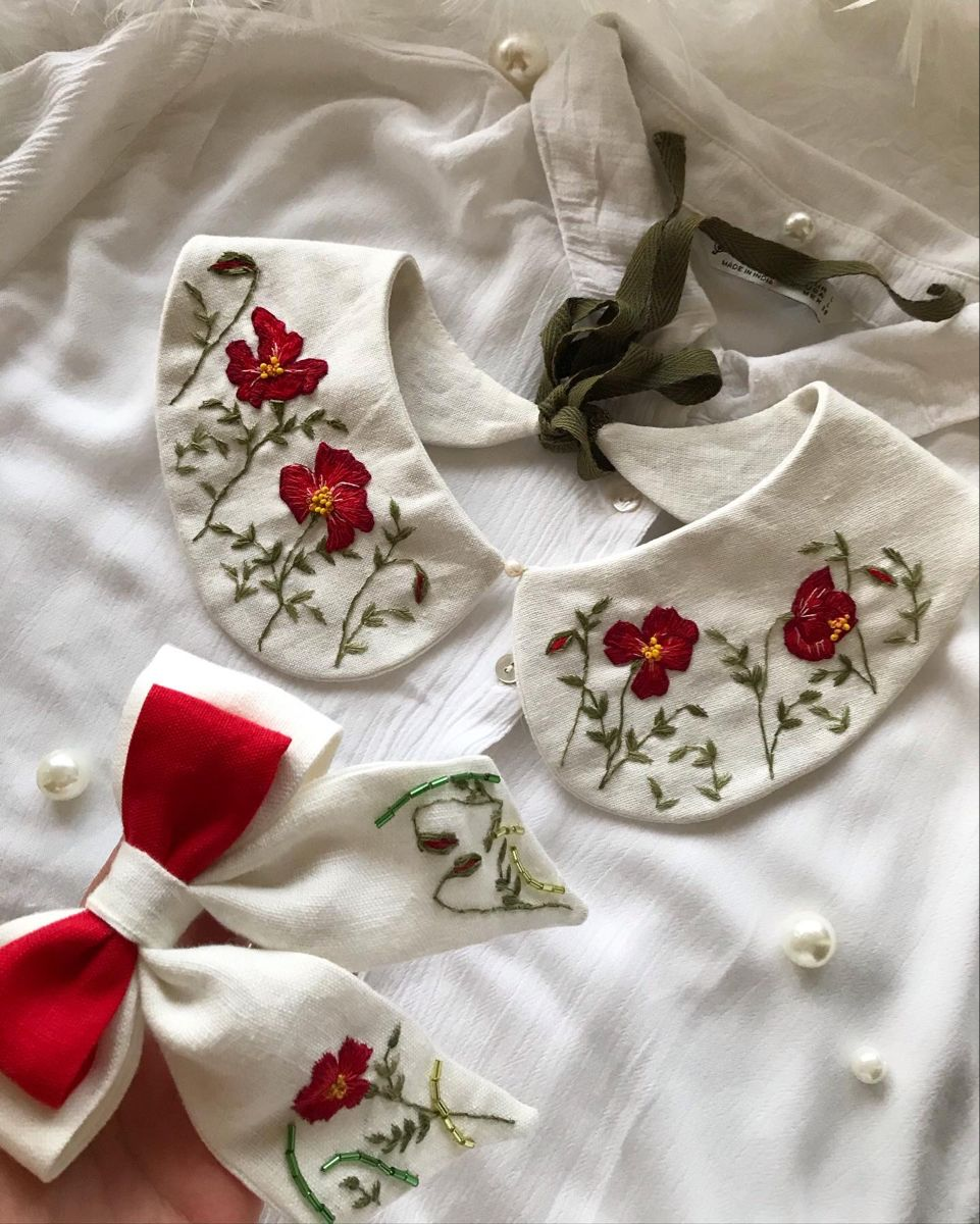 Faux Crystal Dress Collar  detachable Collar  Embellished Peter Pan Collar   Faux Collar  Removable Collar  Crystal Bead Embroidery
