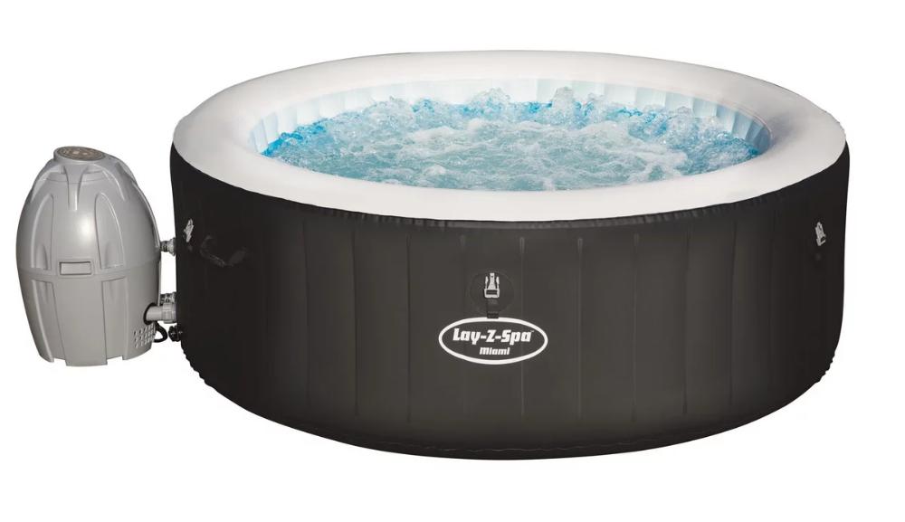 Bestway Whirlpool Aufblasbar In Schwarz Bestellen In 2020 Whirlpool Aufblasbar Whirlpool Aufblasbar