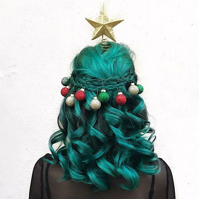 DIY Christmas Holiday Hairstyles | Luvly Long Locks