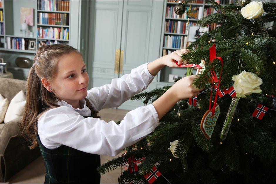 La princesse Ingrid Alexandra de Norvège à Asker, le 14 décembre 2015