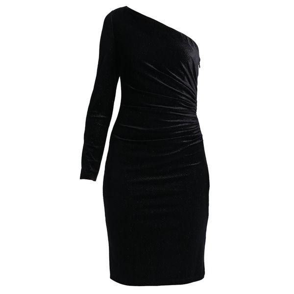 Wallis SHOULDER DRESS Cocktailkleid/festliches Kleid black ...