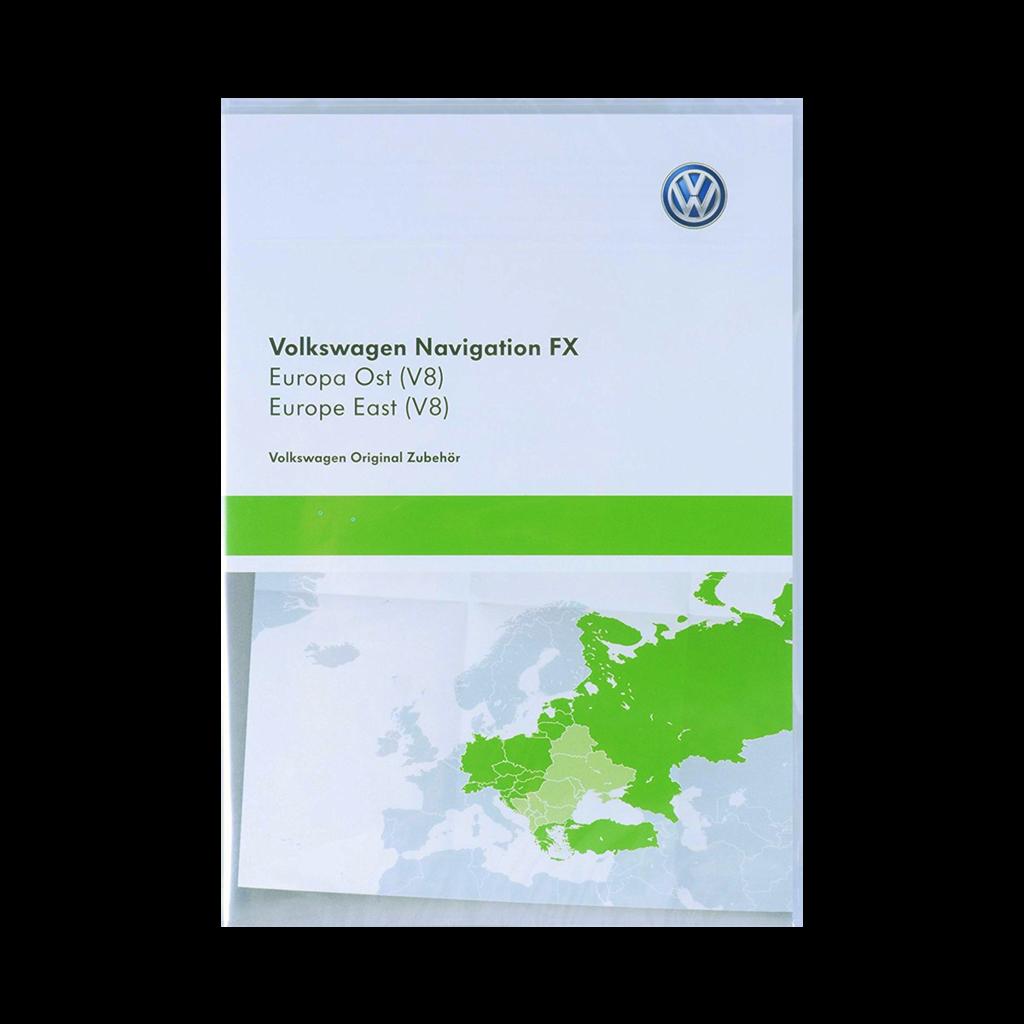 Vw Sd Karte.Volkswagen Rns 310 Osteuropa V8 Navigation Landkarte Sd Karte