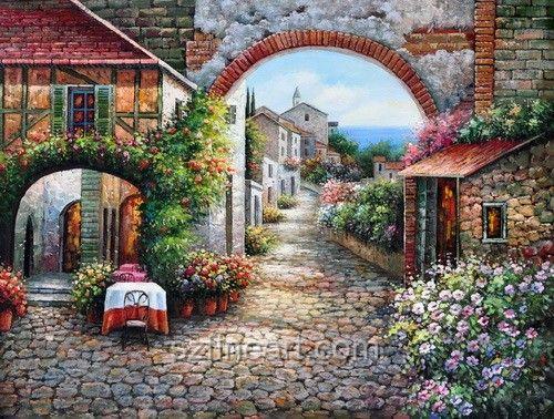 8311438aca5 3 Prints of Tuscany Italy