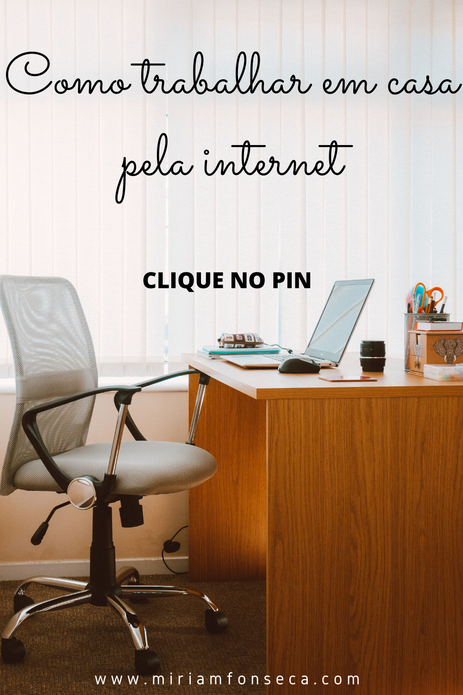 Como trabalhar em casa pela internet