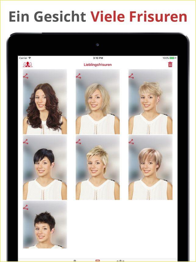 Frisuren Testen Kostenlos Mit Eigenem Foto App Hair Zapp