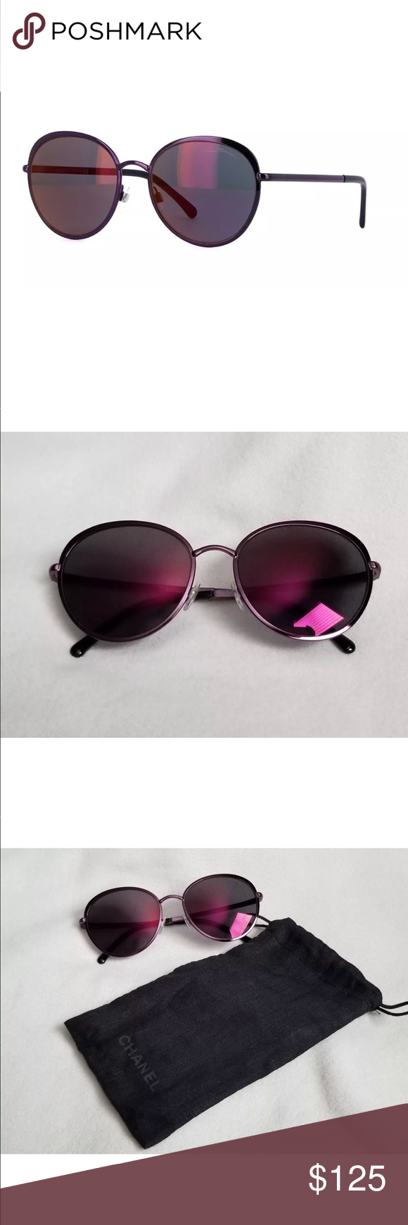 1374fd83828c Gorgeous Authentic Chanel Mirrored Sunglasses Gorgeous Authentic Chanel  Mirrored Sunglasses in very good condition. Minor invisible scratches.