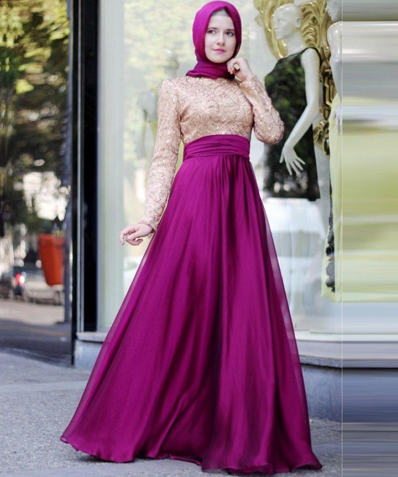 formal dresses muslim - Google Search | düğün | Pinterest | Formal ...