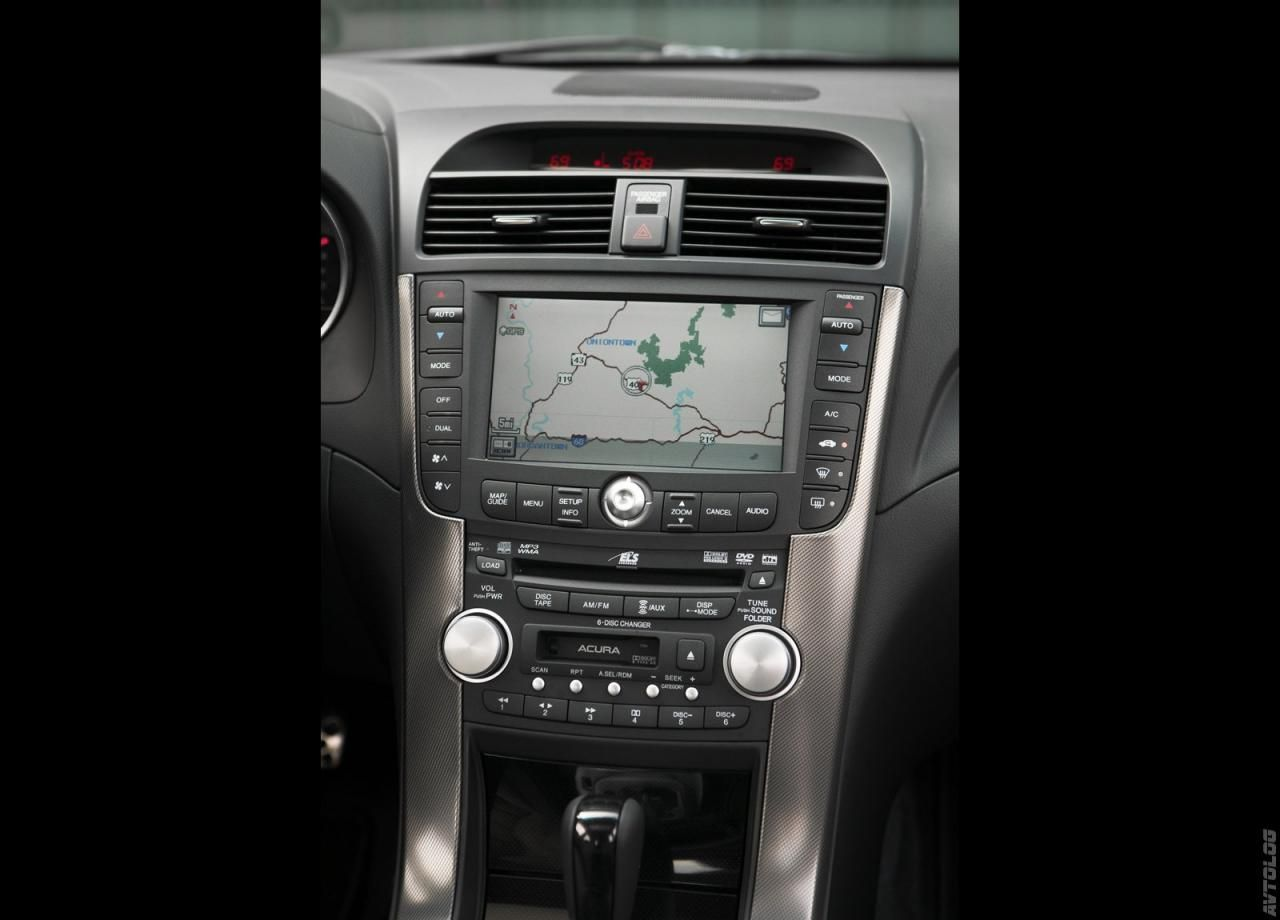2007 Acura TL Type S 2018 navigation map update | Wish List ...