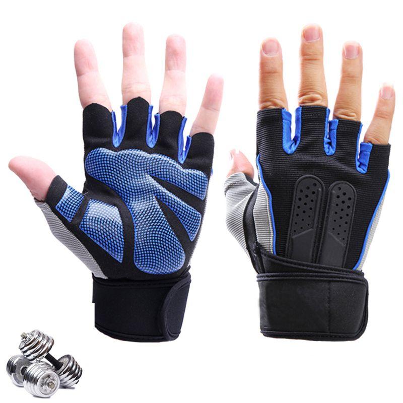 Emerge Fitness Crossfit Gloves: Silica Gel Crossfit Gloves