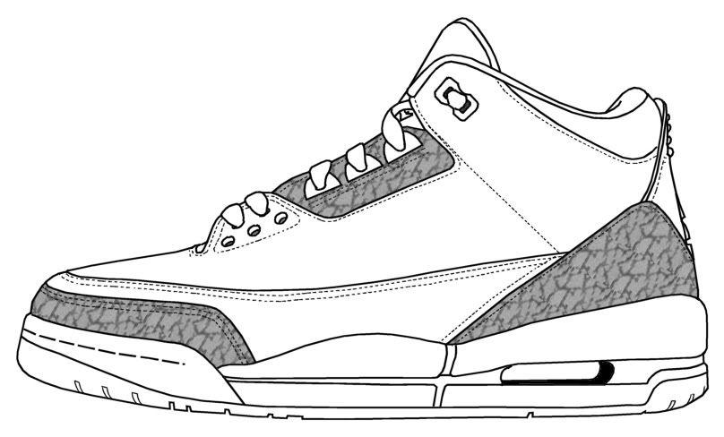 Tous Air Jordan Dessin 3s