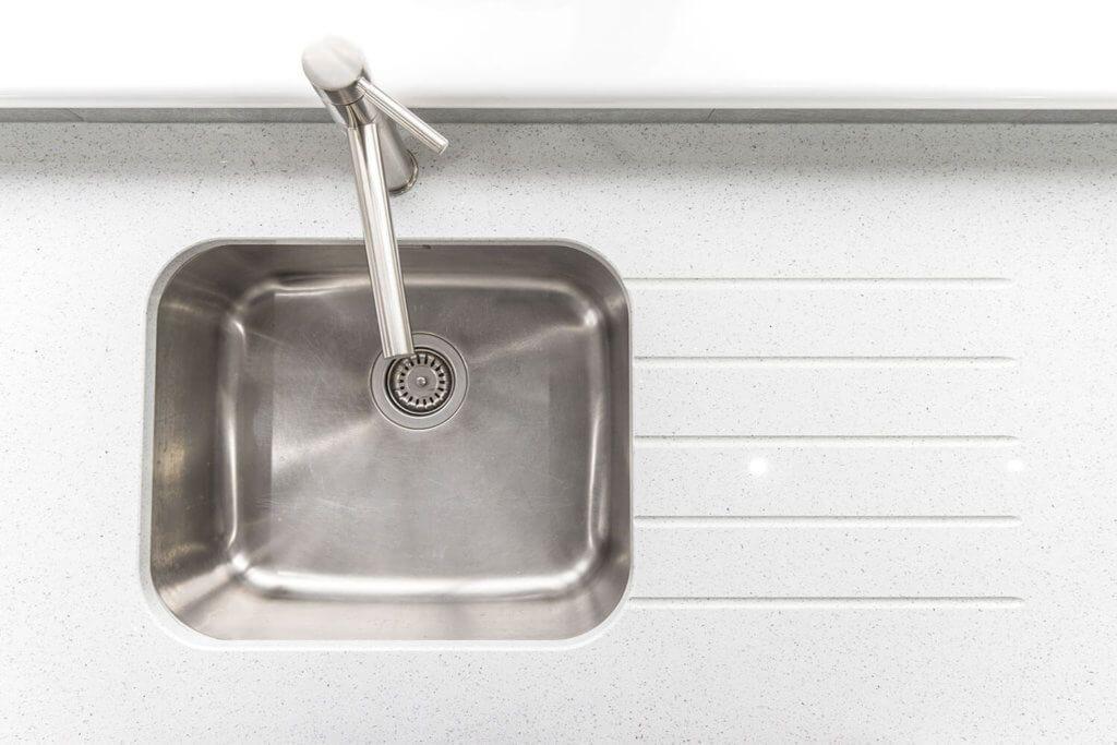 Silestone Blanco Stellar Quartz Crawley Sink