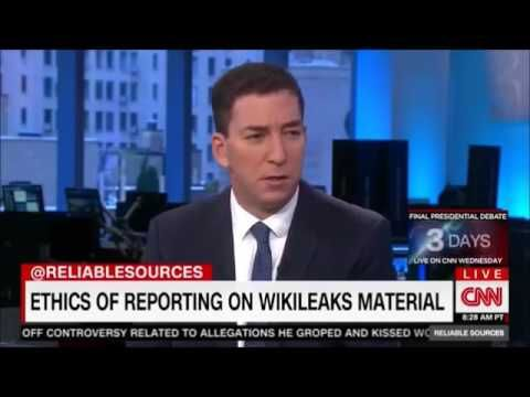 Glenn Greenwald Roasts CNN Anchor For Not Reporting On Hillary WikiLeaks