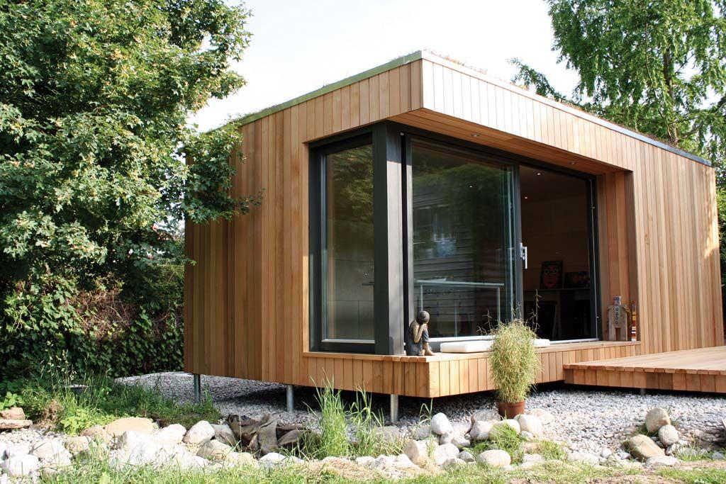 Wohnen und arbeiten im gr nen haus pinterest for Holzhaus wohnhaus