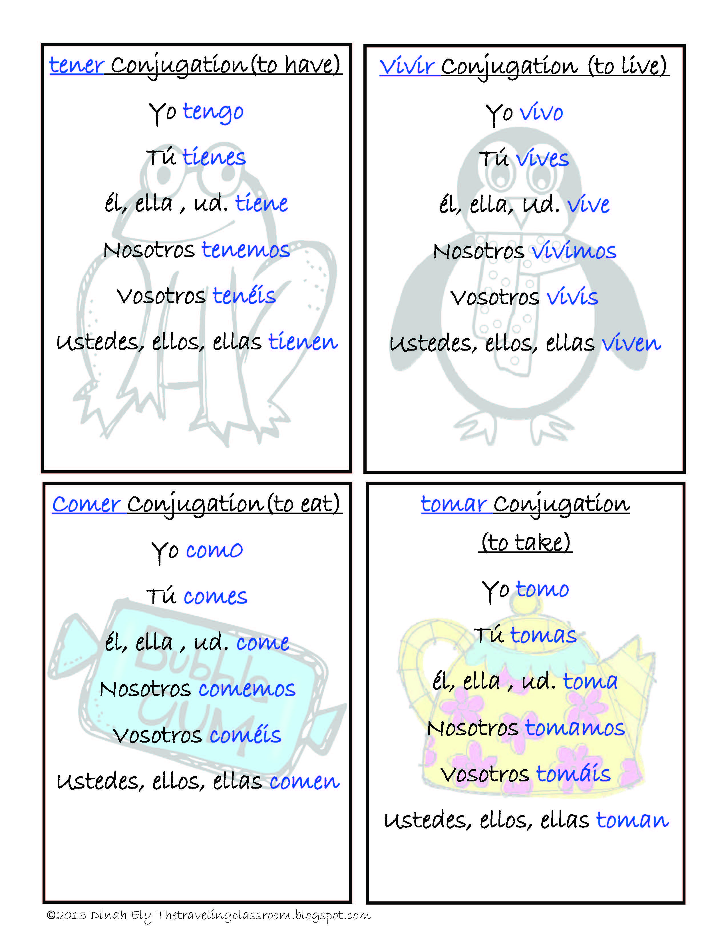 Spanish Present Tense Verbs Flash Cards Quizzes And I Have Who Has Games Play I Have Who Has Using Differ Spanish Classroom Learning Spanish Spanish Verbs [ 3311 x 2550 Pixel ]