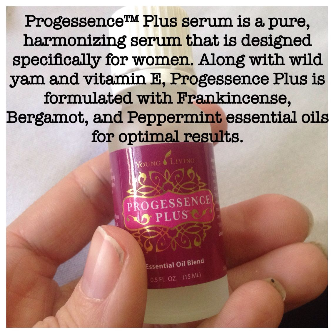 natural hormone replacement made with essential oils and wild yam ...