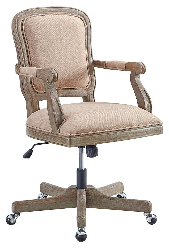 Maybell Office Chair White Furniture Accent Chairs For Living