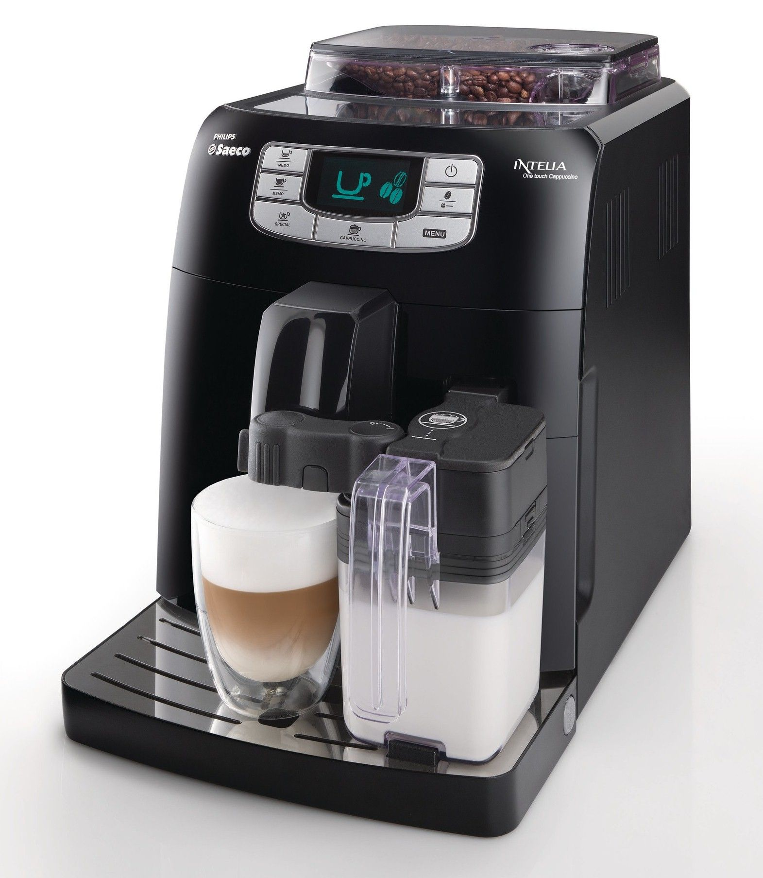 PHILIPS SAECO Intelia One Touch Cappuccino HD8753/19 iš