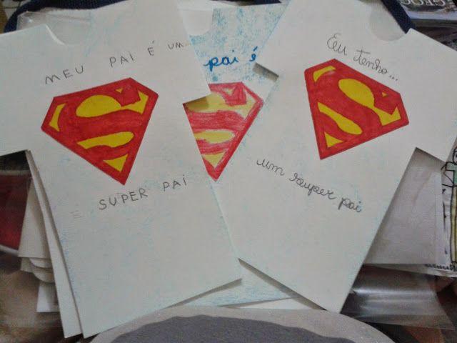 Pedagógiccos Cartão Do Dia Dos Pais Dia Dos Pais Cartão Dia Dos