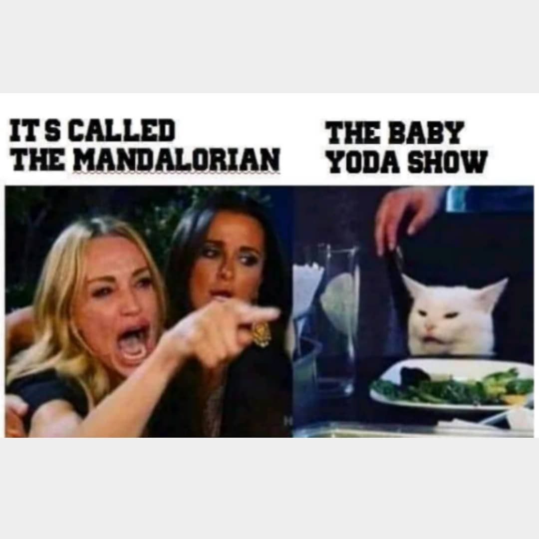 511 Likes 5 Comments The Chosen 0ne On Instagram If They Start Calling It Thebabyyodashow Lol I M Out Just For Laughs Humor Spanish Memes