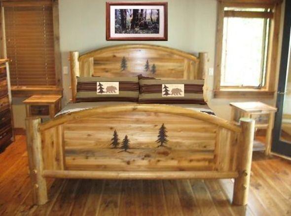 Rustic western bedroom furniture
