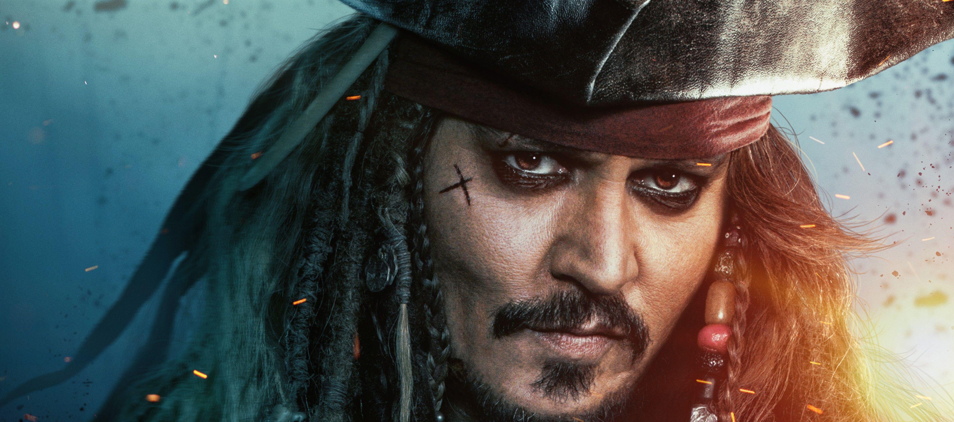 3840x1697 Johnny Depp 4k Wallpaper Download Captain Jack Sparrow Jack Sparrow Pirates Of The Caribbean