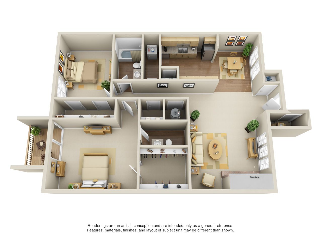 One Two Three Bedroom Apartments In Edmond Ok Edmond Oklahoma Apartment Steadfast Apartment Layout House Plans Bedroom House Plans