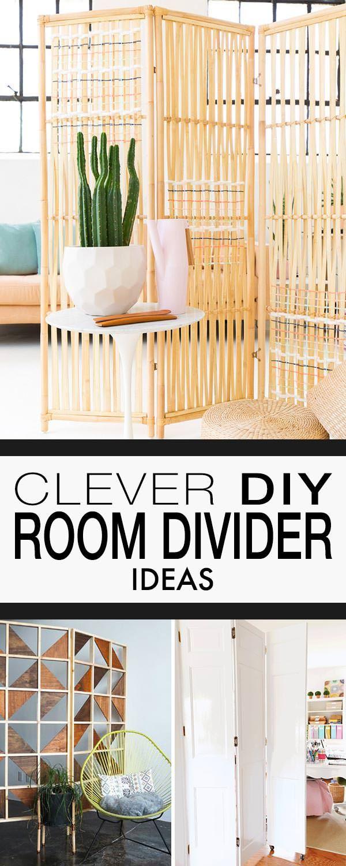 Clever DIY Room Divider Ideas images